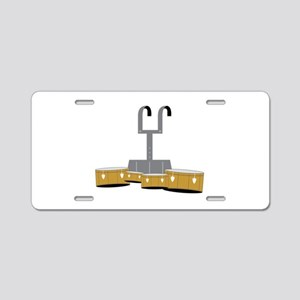 Quad Drums Aluminum License Plate
