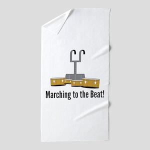 Marching Beat Beach Towel