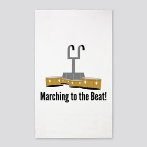 Marching Beat Area Rug
