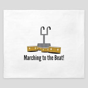 Marching Beat King Duvet