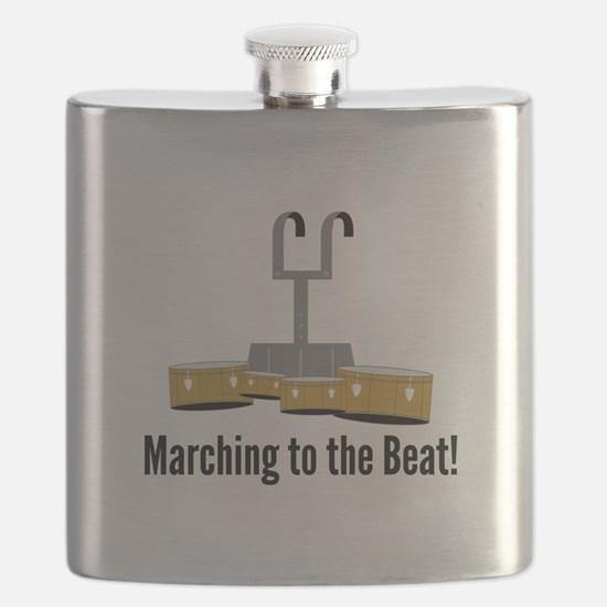 Marching Beat Flask