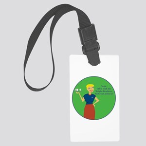 Wbbl Large Luggage Tag