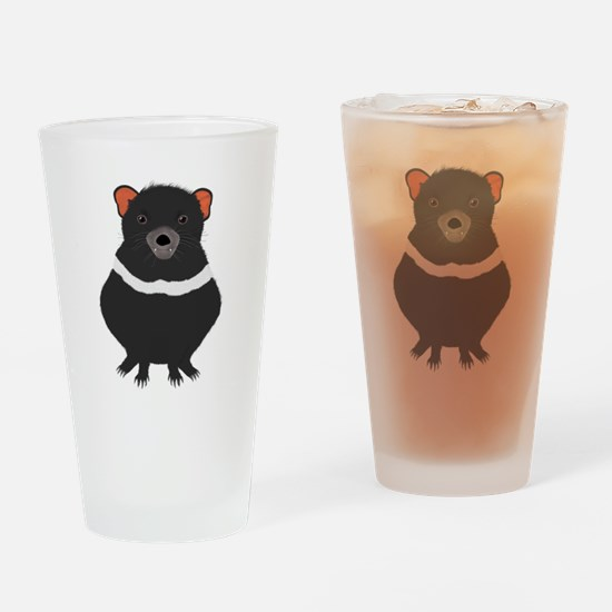 Tasmanian Devil Drinking Glass