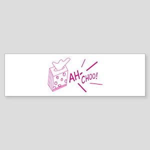 Ah-choo Tissue Bumper Sticker