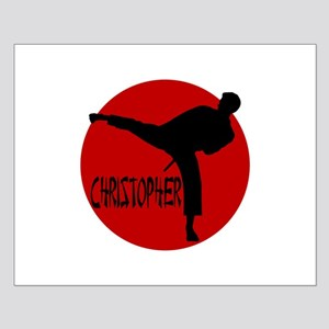 Christopher Martial Arts Small Poster