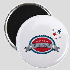 God Bless America Magnets