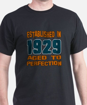 Established In 1929 T-Shirt