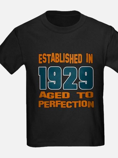 Established In 1929 T