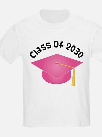 2030 pink hat david.png T-Shirt