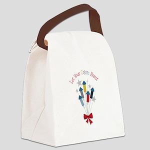 Let Colors Burst Canvas Lunch Bag