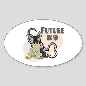 Future K9 Oval Sticker