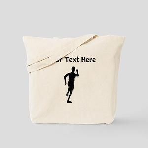 Runner Silhouette Tote Bag
