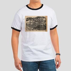 Vintage Pictorial Map of Aspen Colorado (1 T-Shirt