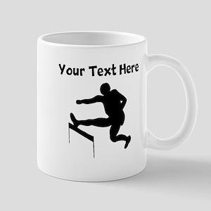 Hurdles Silhouette Mugs