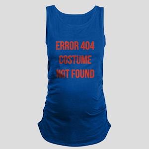 Error 404 Costume Maternity Tank Top