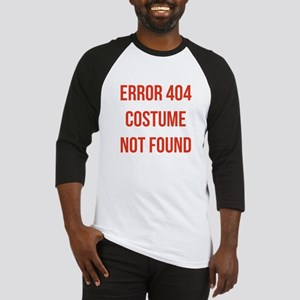 Error 404 Costume Baseball Jersey