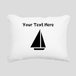 Sail Boat Rectangular Canvas Pillow