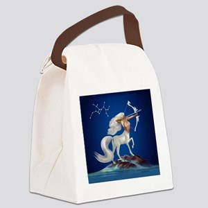 Mystical Sagittarius Canvas Lunch Bag