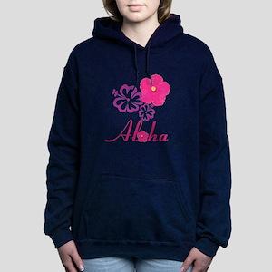 Pink Hibiscus Aloha Sweatshirt