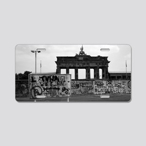 Berlin Wall - Iconic! Aluminum License Plate