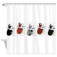 puppybumper Shower Curtain