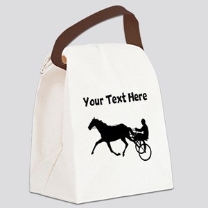 Harness Racing Canvas Lunch Bag
