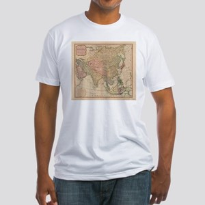 Vintage Map of Asia (1799) T-Shirt