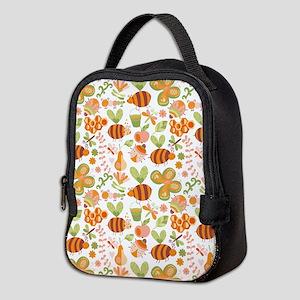 Busy Bee Garden Neoprene Lunch Bag