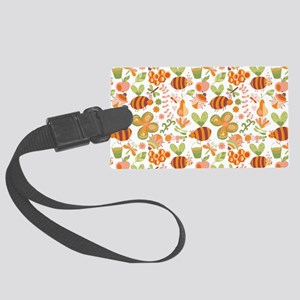 Busy Bee Garden Large Luggage Tag