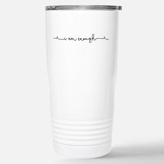 I am Enough Stainless Steel Travel Mug