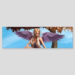Autumn Angel Bumper Sticker