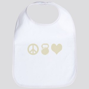 Peace Weight Love Bib