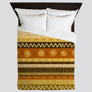 African Ethnic Pattern Queen Duvet