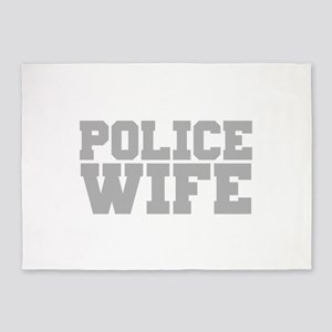 Police Wife 5'x7'Area Rug