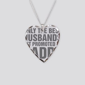 Only The Best Husbands Get Pr Necklace Heart Charm