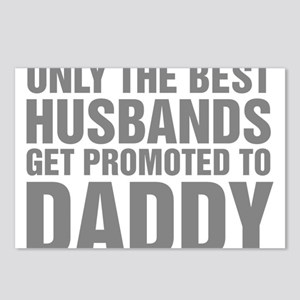 Only The Best Husbands Ge Postcards (Package of 8)