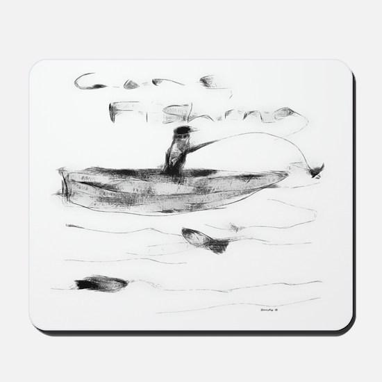 Gone Fishing Mousepad