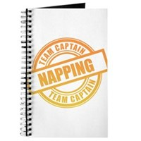 Napping Team Captain Journal