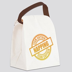 Napping Team Captain Canvas Lunch Bag