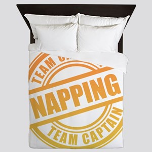 Napping Team Captain Queen Duvet