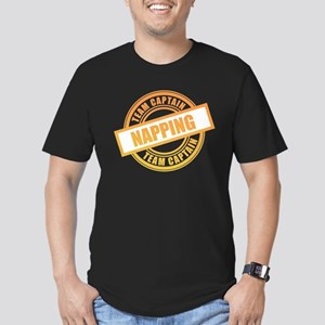 Napping Team Captain Men's Fitted T-Shirt (dark)