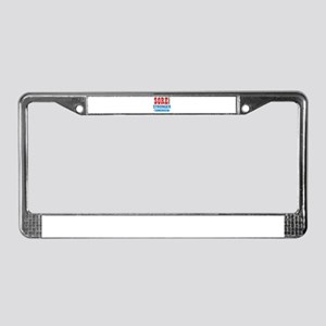 Sore Today Stronger Tomorrow License Plate Frame