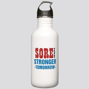 Sore Today Stronger To Stainless Water Bottle 1.0L