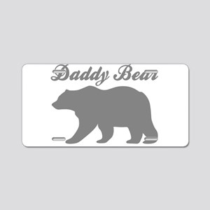 Daddy Bear Aluminum License Plate