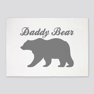 Daddy Bear 5'x7'Area Rug