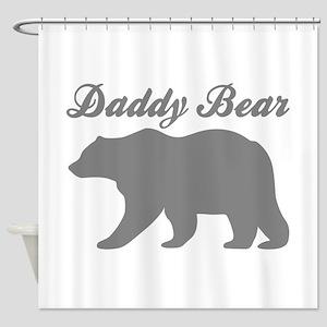Daddy Bear Shower Curtain