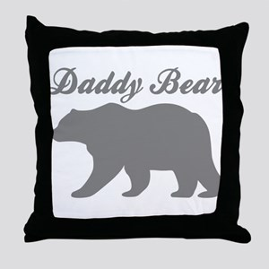 Daddy Bear Throw Pillow
