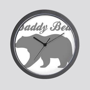 Daddy Bear Wall Clock