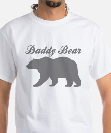 Daddy Bear White T-Shirt