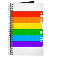 Gay Pride Rainbow Journal